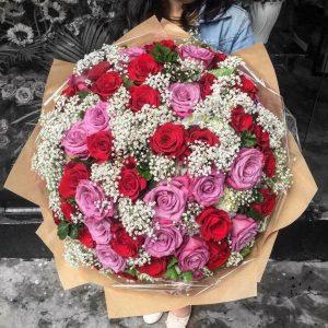 Bó hoa tuoi dem baby mem mai