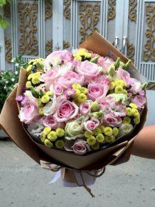 Hoa bo don gian, đày sang trọng