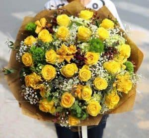 Bó hoa dành tặng mẹ, bạn ý nghĩa