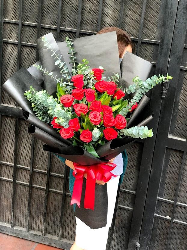 Kết quả hình ảnh cho bó hoa hồng đẹp