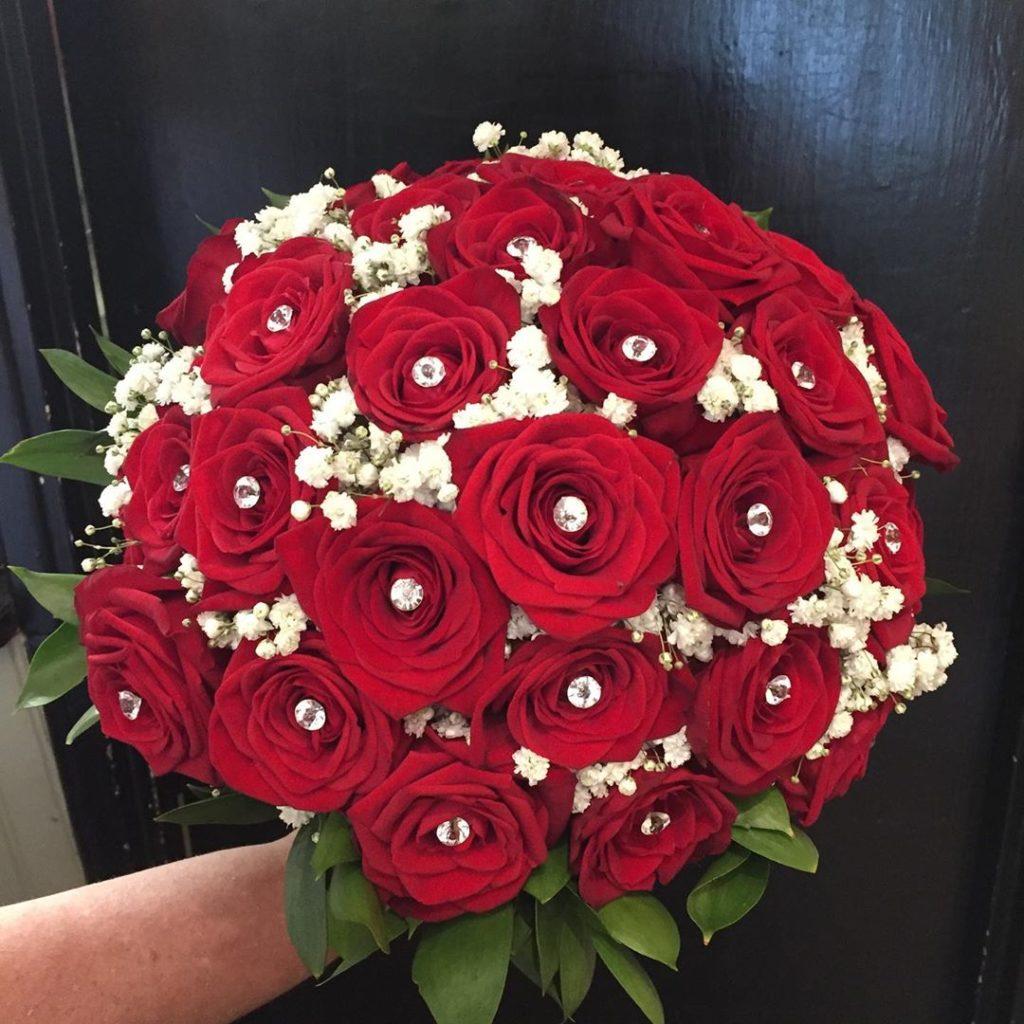 hoa tươi cưới hỏi bằng hoa hồng là sự lựa chọn số 1 hiện nay