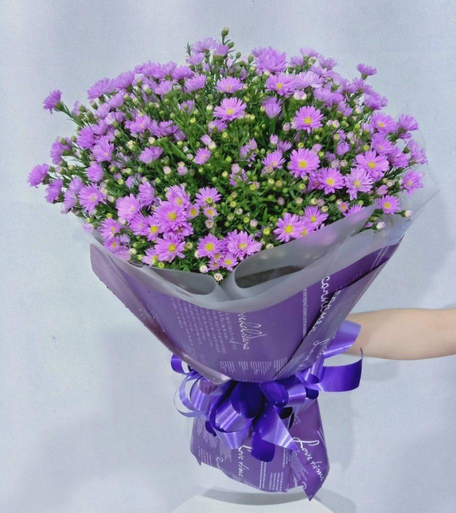 Thạch tháo đơn giản làm hoa tươi cưới hỏi