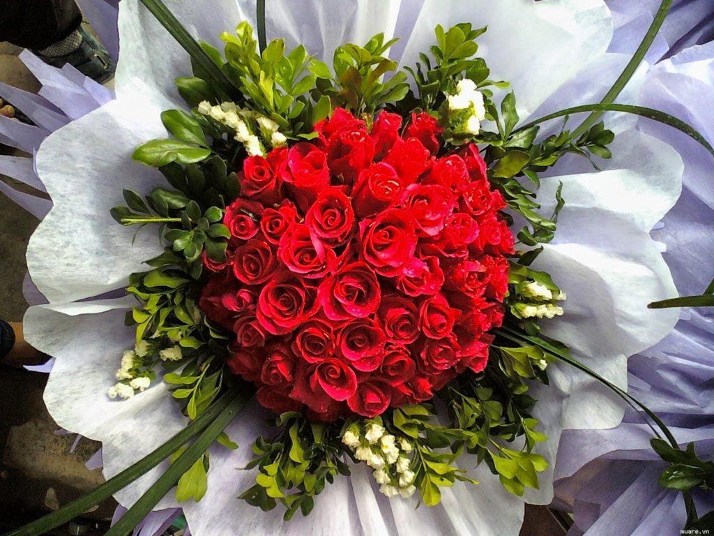 hoa tươi hẹn hò đẹp và ý nghĩa bằng hoa hồng