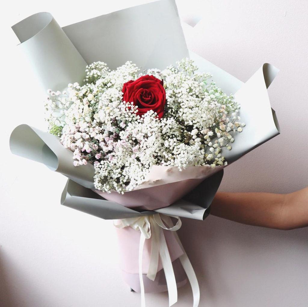hoa tươi hẹn hò tinh tế với baby