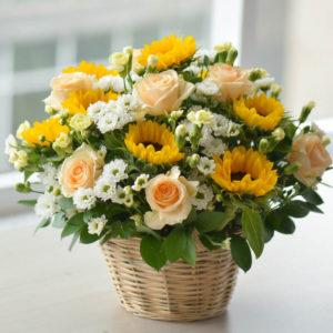 giỏ hoa tươi sinh nhật