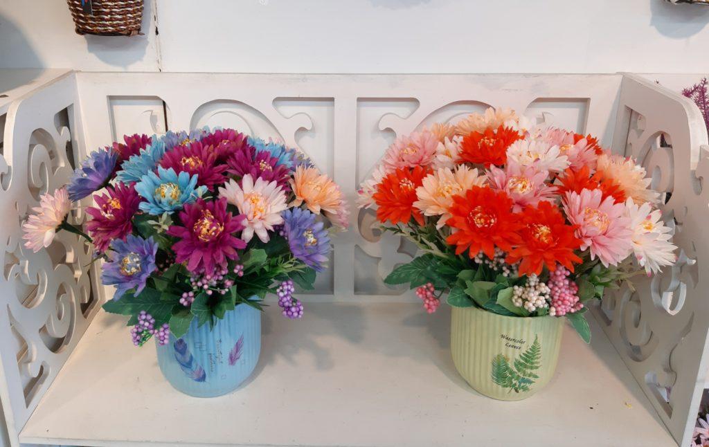 shop hoa tươi văn phòng tạo điểm nhấn không thể bỏ qua
